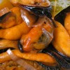 Mejillones con Lemon Grass, Chile y Mantequilla