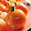 Naranjas King disfrazadas de Halloween