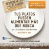 Restaurantes contra el Hambre, Alfonso Calderón