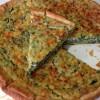 Tarta de Espinacas, Quinua y Queso Parmesano