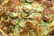 Quiche de Calabacines, Tarta de Zucchinis Zapallitos largos