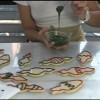 Glasé Real para color de las galletas del Árbol de Navidad