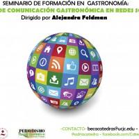 Seminario de Formación UCJC, Comunicación Gastronómica en Redes Sociales