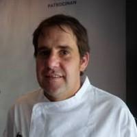 Pimientos Asados con Ajo Elefante de Murcia, receta Chef Rubén Trincado