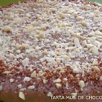 Tarta Mousse Mus de chocolate y nuez