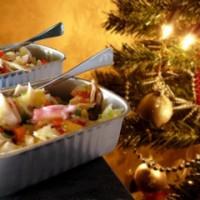Vinagreta de mariscos en lata de conservas para Navidad