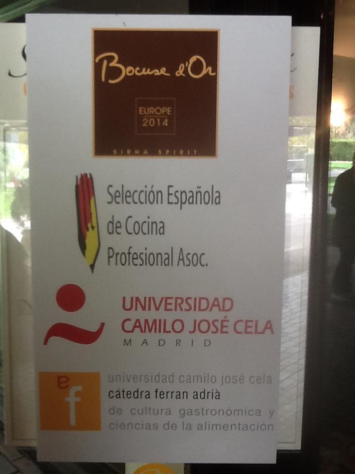Imagen Bocuse d'Or en UCJC