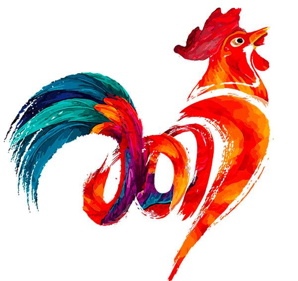 Año Chino 2017 Gallo