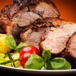 Roastbeef, Rostbif, Al Estilo Inglés con Salsa de Vermouth o Cogñac