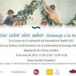 Los Citricos, Color, Olor, Sabor, desde el Palacio Sorolla