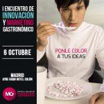 Ponentes del I Encuentro de Innovación y Marketing Gastronómico en Madrid